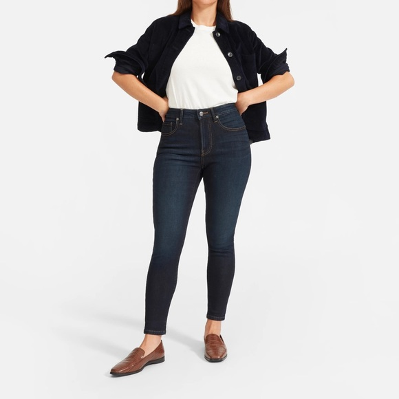 Everlane The Curvy High Rise Skinny Jeans Size 25